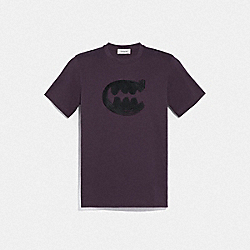 COACH 76005 - REXY BY GUANG YU T-SHIRT GRAPE