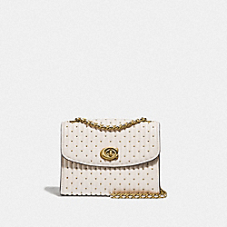 COACH 76029 - PARKER 18 WITH QUILTING AND RIVETS B4/CHALK