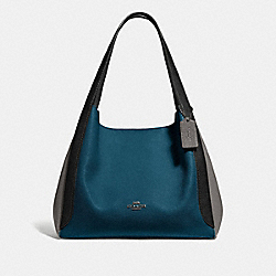 COACH 76088 Hadley Hobo In Colorblock GM/PEACOCK MULTI
