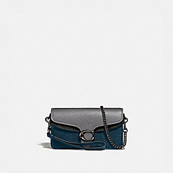 COACH 76199 Tabby Crossbody In Colorblock HEATHER GREY MULTI/PEWTER