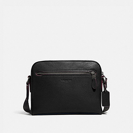 COACH 76232 METROPOLITAN SOFT CAMERA BAG QB/BLACK