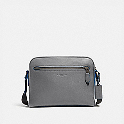 METROPOLITAN SOFT CAMERA BAG - QB/GREY - COACH 76232