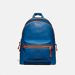 COACH 762 Academy Backpack With Varsity Zipper SV/PACIFIC