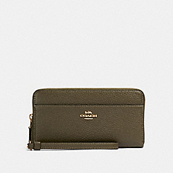 COACH 76517 Accordion Zip Wallet IM/CANTEEN