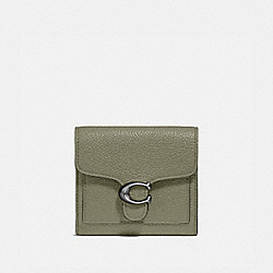TABBY SMALL WALLET - 76527 - PEWTER/LIGHT FERN