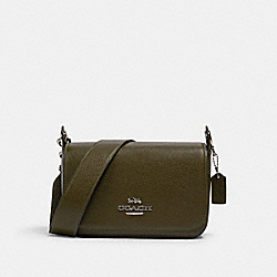COACH 76698 - SMALL JES MESSENGER SV/CARGO GREEN