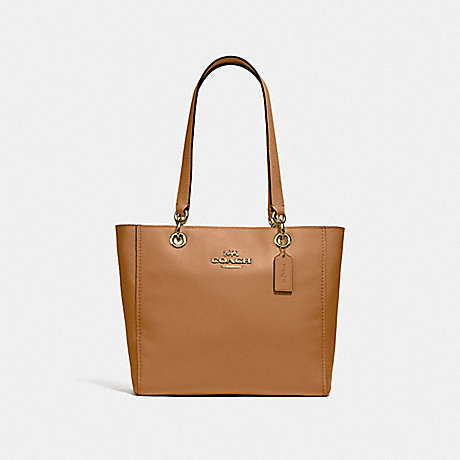 COACH 76701 JES TOTE IM/LIGHT SADDLE