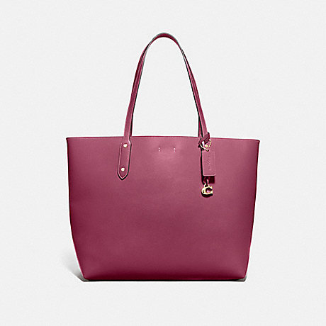 COACH 76730 CENTRAL TOTE 39 GOLD/DUSTY-PINK