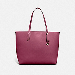 COACH 76730 Central Tote 39 GOLD/DUSTY PINK