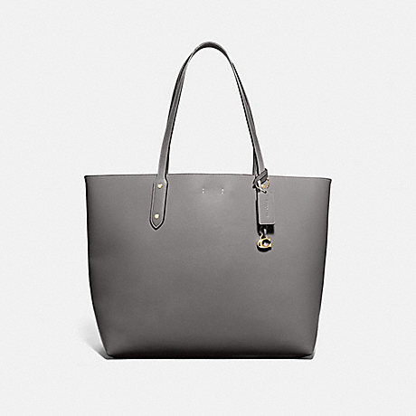 COACH 76730 CENTRAL TOTE 39 HEATHER-GREY/GUNMETAL