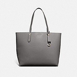 COACH 76730 Central Tote 39 HEATHER GREY/GUNMETAL