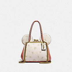 COACH 76745 Disney X Coach Minnie Mouse Kisslock Bag B4/LIGHT PEACH