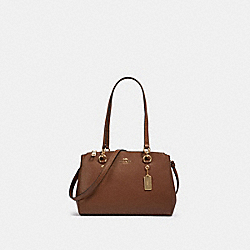 COACH 76938 - ETTA CARRYALL IM/SADDLE 2