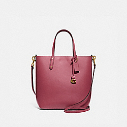 COACH 78217 Central Shopper Tote GOLD/DUSTY PINK