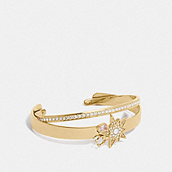COMPLIMENTARY BANGLE - 78587 - GD/CRYSTAL