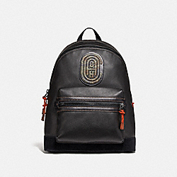 COACH 78613 - ACADEMY BACKPACK WITH KAFFE FASSETT COACH PATCH JI/BLACK