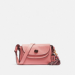 COACH 78713 - COACH X TABITHA SIMMONS CROSSBODY 17 LIGHT BLUSH/PEWTER