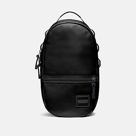 COACH 78830 PACER BACKPACK WITH COACH PATCH JI/BLACK