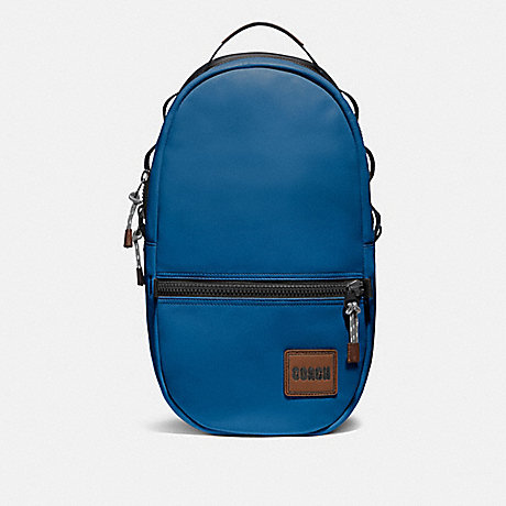 COACH 78830 PACER BACKPACK WITH COACH PATCH JI/PACIFIC