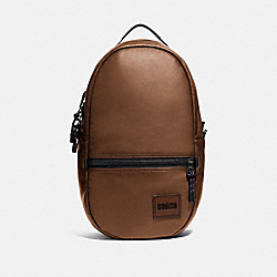 COACH 78830 - PACER BACKPACK WITH COACH PATCH JI/SADDLE
