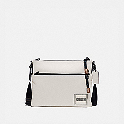 COACH 78834 Pacer Crossbody With Coach Patch BLACK COPPER/CHALK
