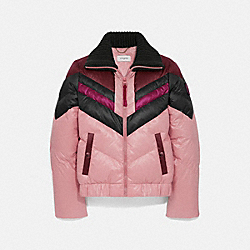 COACH 78972 Ski Jacket PINK