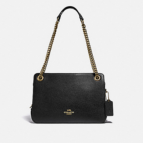 COACH 79261 BRYANT CONVERTIBLE CARRYALL BRASS/BLACK