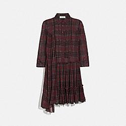 COACH 79304 - PRINTED ASYMMETRICAL DRESS WINE