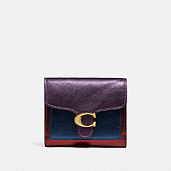 COACH 79422 - TABBY SMALL WALLET IN COLORBLOCK BRASS/MULTI
