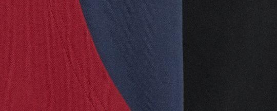 海軍藍色/深紅色