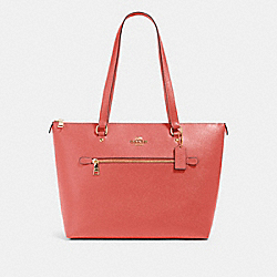 COACH 79608 Gallery Tote IM/BRIGHT CORAL