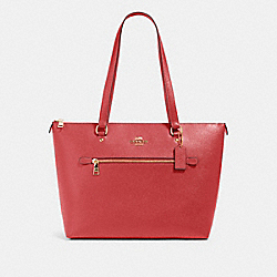 COACH 79608 Gallery Tote IM/POPPY