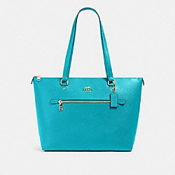 GALLERY TOTE - IM/TEAL - COACH 79608