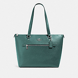 COACH 79608 Gallery Tote SV/DARK TURQUOISE