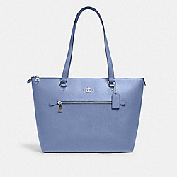 COACH 79608 - GALLERY TOTE SV/PERIWINKLE