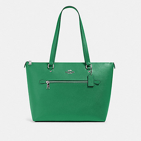 COACH 79608 GALLERY TOTE SV/SHAMROCK