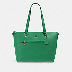 COACH 79608 - GALLERY TOTE SV/SHAMROCK