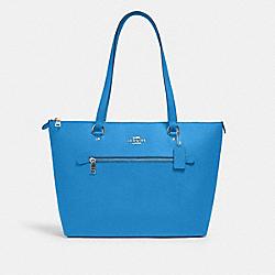 COACH 79608 Gallery Tote SV/VIVID BLUE