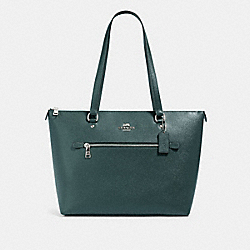 COACH 79608 Gallery Tote SV/DARK IVY