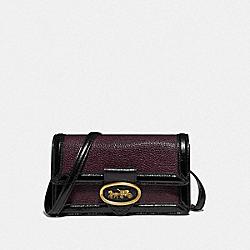 COACH 79668 - RILEY CONVERTIBLE BELT BAG BRASS/OXBLOOD/BLACK