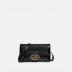 RILEY CONVERTIBLE BELT BAG - 79668 - BRASS/BLACK/BLACK