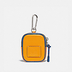 HYBRID POUCH 8 IN COLORBLOCK WITH COACH PATCH - 79733 - POLLEN MULTI