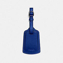 COACH 79809 Luggage Tag SPORT BLUE