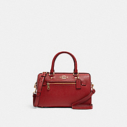 ROWAN SATCHEL - 79946 - IM/1941 RED
