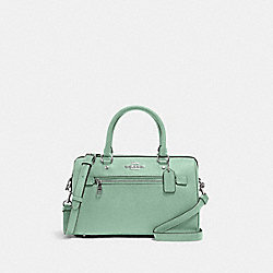 ROWAN SATCHEL - SV/WASHED GREEN - COACH 79946