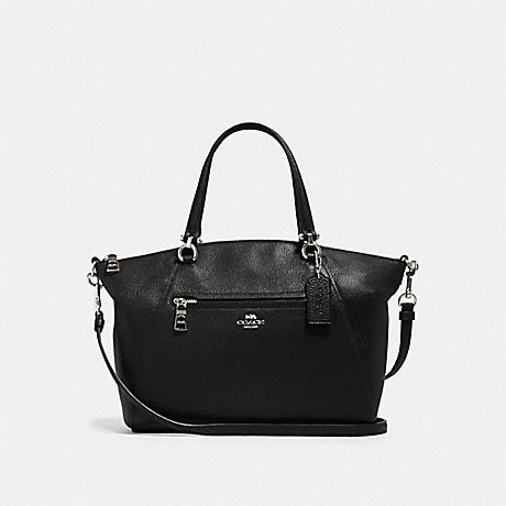 COACH 79997 PRAIRIE SATCHEL SV/BLACK