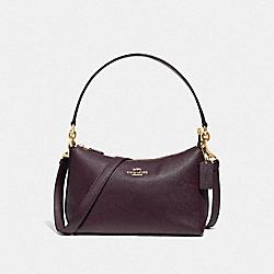 COACH 80058 Lewis Shoulder Bag IM/RASPBERRY