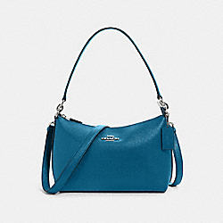COACH 80058 - LEWIS SHOULDER BAG SV/OCEANSIDE BLUE
