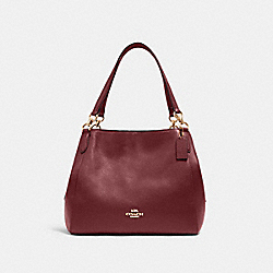 COACH 80268 - HALLIE SHOULDER BAG IM/VINTAGE MAUVE