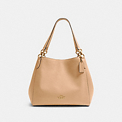 COACH 80268 - HALLIE SHOULDER BAG IM/TAUPE
